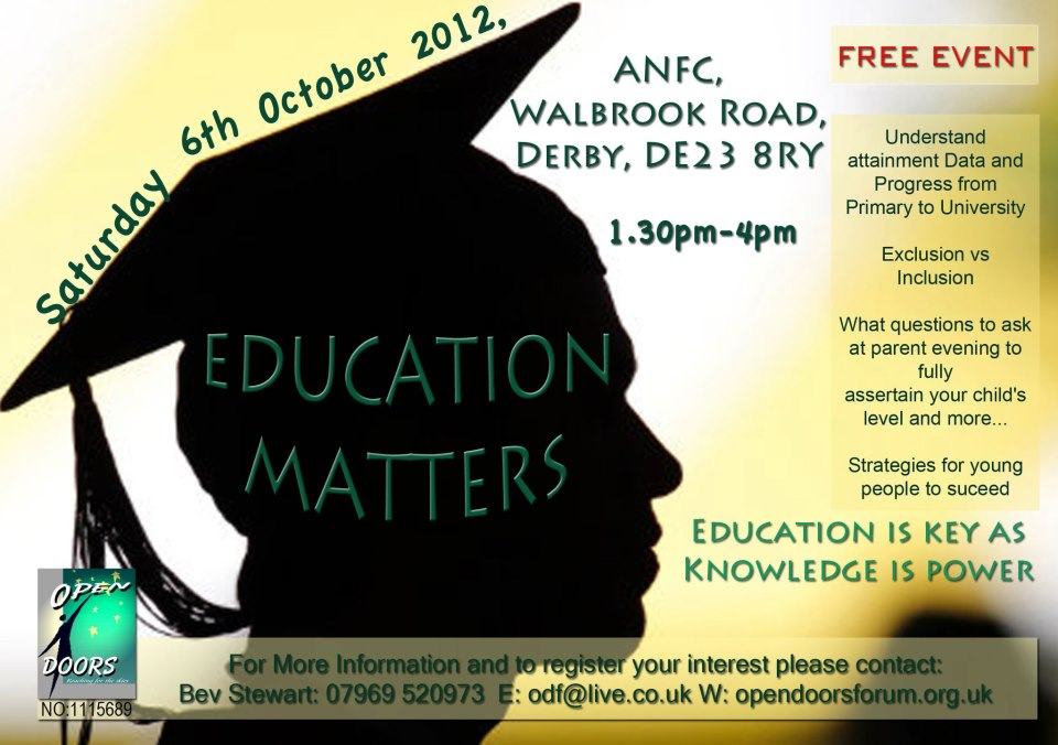 Education Matters Event